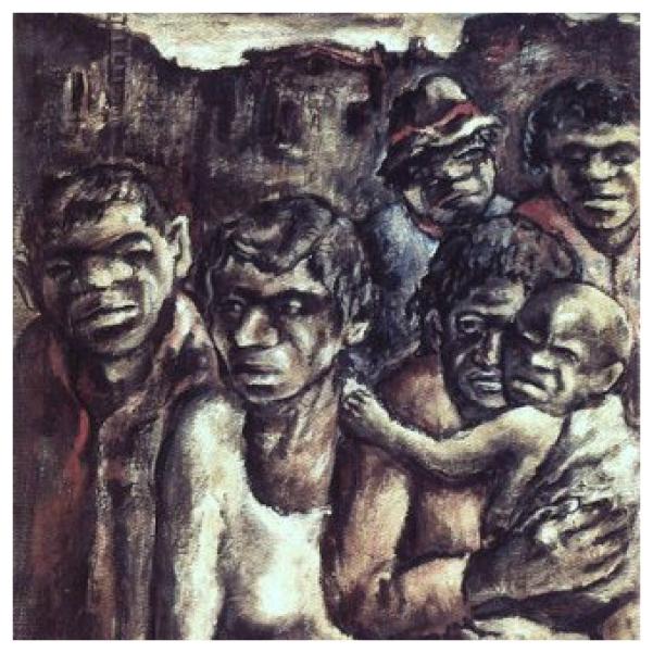 Aboriginals in Fitzroy-Collage
