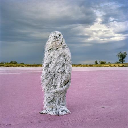 Salt Man, 120 x 120 cm pigment digital print