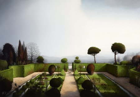 Gardener Before Kings, 2013, oil on linen, 137cm x 197cm