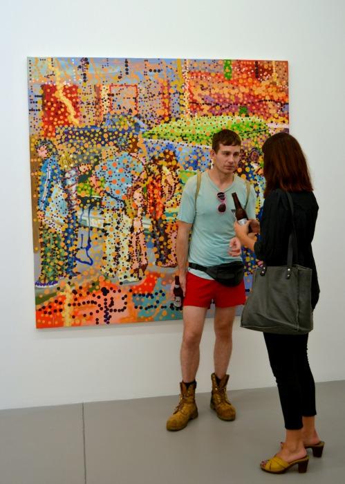Jon Cattapan's Monster View, 2008 Oil on linen, 190 x 190cm