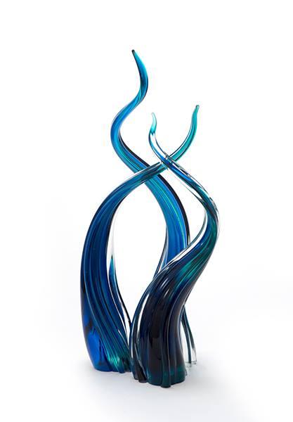 Phillip Stokes Aqua Streaming Trio. Was $1980 Now $1380 560mm (H) x 260mm (W) x 200 (D)