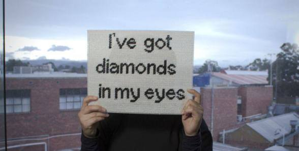 Hamer-I've got Diamonds in my eyes!